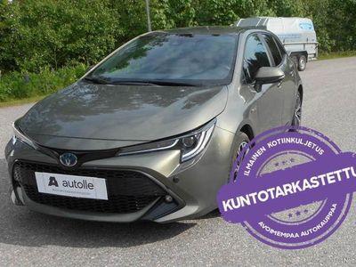 käytetty Toyota Corolla *KOTIINTOIMITUS!* Hatchback 1,8 Style Hybrid Aut Tarkastettuna, Rahoituksella, Kotiin toimitettuna!