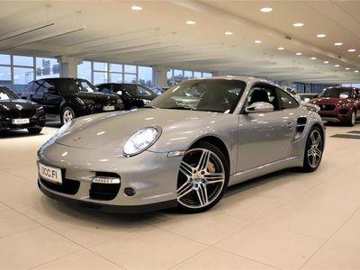 käytetty Porsche 911 Turbo Tiptronic S, Keraamiset jarrut, GT Silver, Kattoluukku, Navi, Bose, Chrono, Mukautuvat urh.ist