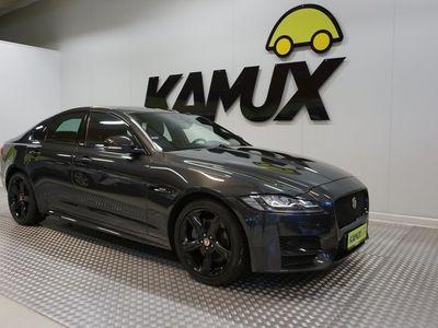 käytetty Jaguar XF 2.0d 180 R-Sport Pro Edition AT/Nankapenkit/ Navi/ Koukku/ Meridian-audio/ P-kamera