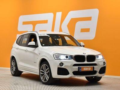 käytetty BMW X3 F25 xDrive20d A Business M-SPORT ** Prof. navi / P. kamera / Tutkat / Lohko / Sporttipenkit / Koukku