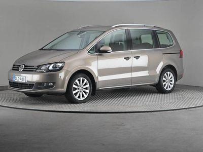 käytetty VW Sharan Highline 2,0 TDI 135 4MOTION DSG (MY18) -Webasto, Koukku, Navi-