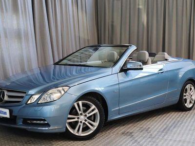 käytetty Mercedes E250 CGI BE Cabriolet A, MERKKIHUOLLETTU, HYVÄT VARUSTEET!