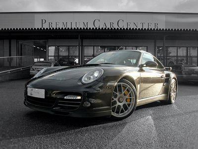 käytetty Porsche 911 997.2 Turbo PDK, Aerokit, Center Lock-vanteet, Täysnahat, Hiilikuitupaketti, Superharvinaisuus