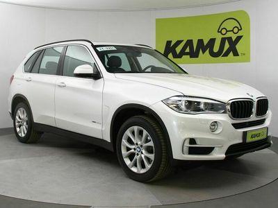 käytetty BMW X5 xDrive25d vetokoukku (taittuva kuula) / istuinpäälliset/verhoilu: nahka Dakota / edessä sähköä. säädettävä (vasen muisti)