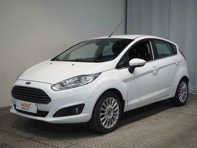käytetty Ford Fiesta *KOTIINTOIMITUS* 1,0 EcoBoost 125 S/S Titanium 5ov. Tarkastettuna, Rahoituksella, Kotiin toimitettuna!