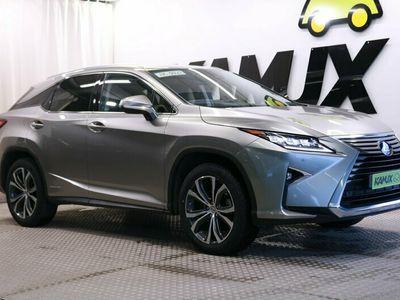 käytetty Lexus RX450h Hybrid 4WD A Executive / Adap.Vakkari / LED-ajovalot / Nahkasisusta / Navi /