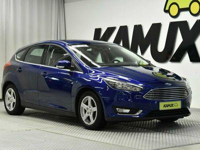 käytetty Ford Focus 1.0 EcoBoost Manuell, 100hk, 2017 TITANIUM/isonäyttö/APPLE carplay