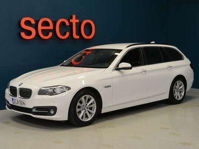 käytetty BMW 520 5-sarja F11 Touring d A xDrive Business Exclusive Pro Edtion, Nahkaverhoilu, Ambiente, Navigointi - korkotarjous 0,9%