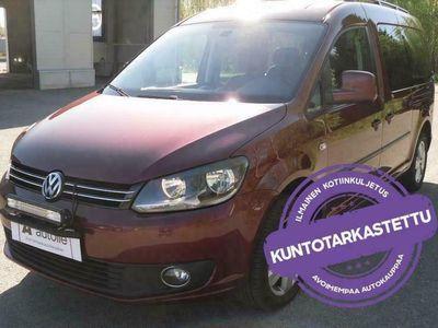 käytetty VW Caddy Maxi *KOTIINTOIMITUS* Trendline 1,6 TDI Bluemotion 75 kW Man. Tarkastettuna, Rahoituksella, Kotiin toimitettuna!