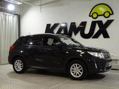 käytetty Suzuki Vitara 1,6 VVT 4WD GL+ 5MT / Adaptiivinen vakkari / Vetokoukku / Peruutuskamera / Lohkolämmitin / Ajodynami