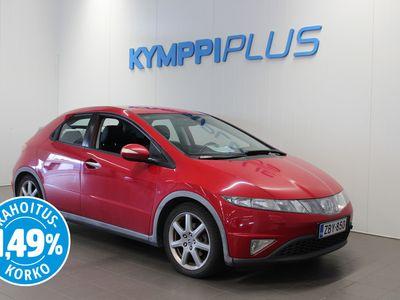 käytetty Honda Civic 1,8i Sport 5D - ** RAHOITUSKORKO 1,49% ** - Lämpöpaketti / Aut. Ilmastointi / Kahdet renkaat