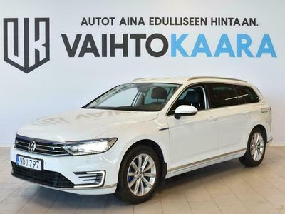 käytetty VW Passat Variant GTE 1.4 TSI DSG-Aut 218hv Plug in Hybrid # Suosittu sportti plug-in farmari # Koukku, Adapt.