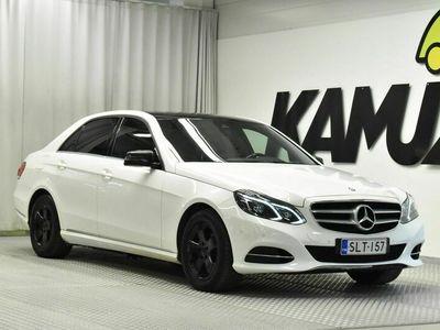 käytetty Mercedes E200 BlueTec A Business / ILS / TUTKAT / BLUETOOTH AUDIOLLA /