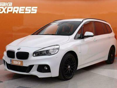 käytetty BMW 220 Gran Tourer F46 220i A Business M-Sport ** Adapt. Cruise / HUD / Navi Plus / Hifi / 7-paik. **