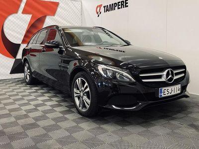 käytetty Mercedes C200 d T A AMG Premium Edition *DIGIHUOLLOT *Hyvä huoltohistoria *2 x Renkaat *2 x Avaimet