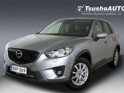 käytetty Mazda CX-5 2,2 SKYACTIV-D Exclusive Navi / Black 6AT 5ov (129 kW) AWD Q33 ** 1- Omisteinen Suomi-auto **