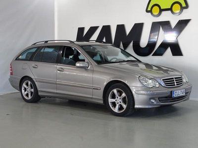 käytetty Mercedes C240 4MATIC / VAKKARI / LOHKOLÄMMITIN / TUTKAT / H-KIRJA /