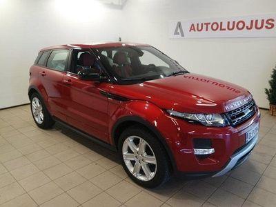 käytetty Land Rover Range Rover evoque 2,2 TD4 Dynamic Business A # 1-OMISTAJA # SUOMI-AUTO #