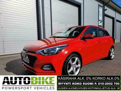 käytetty Hyundai i20 1,0 T-GDI 100 hv 7-DCT Comfort W (KÄSIRAHA 0%, KORKO ALK.0%)