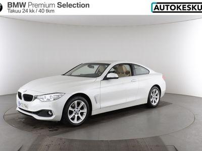 käytetty BMW 420 4-sarja 4-sarja F32 Coupe i A xDrive Business - Tyylikäs ja harvinainen Coupe - BPS takuu 24 kuukautta/40 000 km