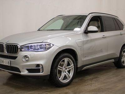 käytetty BMW X5 F15 xDrive40e A - Panorama, Harman/Kardon/Nahkaverhoilu huippuvarusteet! **** LänsiAuto Safe -sopimu