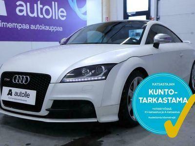 käytetty Audi TTS *SPORTTINEN* Coupé 2.0 TFSI 200 kW quattro S tronic. Tarkastettuna, Rahoituksella, Kotiin toimitettuna!