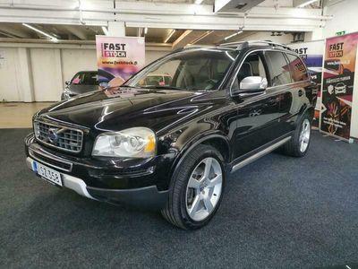 käytetty Volvo XC90 D5 Aut AWD R-Design 7-ist ** Webasto / Tutkat takana / Nahat **