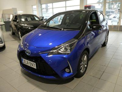 käytetty Toyota Yaris 1,5 Hybrid Style 5ov - **Korkotarjous 1,59%** - Vähänajettu Approve-vaihtoauto