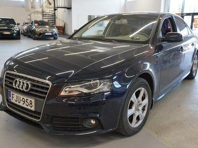 käytetty Audi A4 Sedan 2,0 TFSI quattro 30v Start-Stop ** Juuri huollettu! / Suomi-auto / Nahkasisusta / Xenon-valot