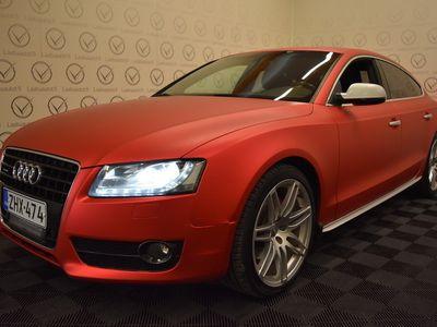 käytetty Audi A5 Sportback Business 2,0 TFSI 155 kW quattro S tronic-autom. - Rahoitus 1.89% jopa ilman käsirahaa! Bang & Olufsen, Sportti penkit, Suomiauto!