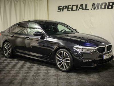 käytetty BMW 530 5-SARJA G30 Sedan d A xDrive Business Comfort - Harman/Kardon - M Sport - HUD