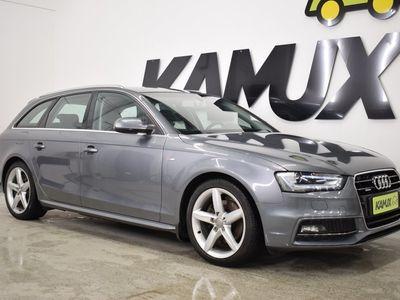 käytetty Audi A4 Avant 2,0 TDI 140 kW quattro / Webasto / Juuri katsastettu ja Huollettu