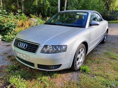 käytetty Audi A4 Cabriolet 2.4 V6 tax-free