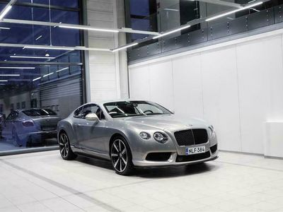 "käytetty Bentley Continental GT V8 S Coupé Aut + Nahat + Mulliner-paketti + Navi + ACC + Keyless Go + Tutkat + 21"" alut"