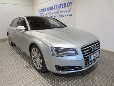 käytetty Audi A8L 4,2 V8 FSI quattro tiptronic-autom. Executive line Suomiauto 1-omistaja