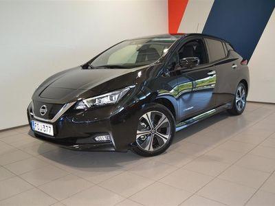 käytetty Nissan Leaf Tekna MY19 40 kWh Leather Ultrasuede ProPilot Park FI