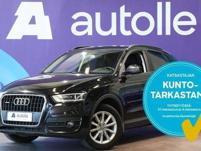 käytetty Audi Q3 *KOTIINTOIMITUS* 2,0 TDI 130 quattro Start-Stop A Business. Tarkastettuna, Rahoituksella, Kotiin toi