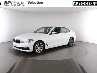 käytetty BMW 520 5-sarja dA xDrive G30 Sedan Business Sport - Korko 1,9% + kulut
