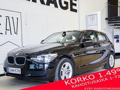 käytetty BMW 114 F21 TwinPower Turbo / 2x alut / Tutka / Korko 1,49 %