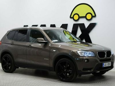 käytetty BMW X3 xDrive20d / Sport-Penkit / Bluetooth / HIENOT KESÄVANTEET / JUURI SAAPUNUT!