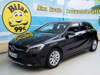 käytetty Mercedes A180 Suomi 100 Edition ** JUURI HUOLLETTU ** - *NYT 0.69% KORKO!*