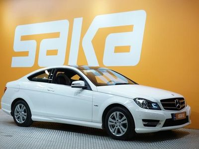 käytetty Mercedes C180 BE Coupé A AMG-STYLING ** Navi / Tutkat / Bluetooth / Sporttipenkit **