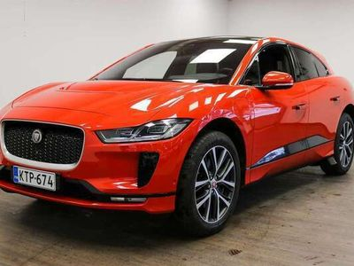 käytetty Jaguar I-Pace First Edition EW 400 AWD **Tehdastakuu, Laajennettu Nahkaverhoilu, Matrix Led-Ajovalot, Navigation P