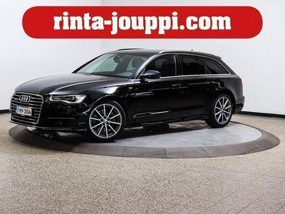 käytetty Audi A6 Avant Bsn Sport 3,0 V6 TDI 200 Q A S-Line - Tehokkaampi 272hv versio, S-Line, adaptiivicruise, webas