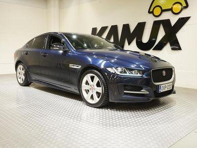 käytetty Jaguar XE 20d R-Sport Aut. #HUIPPUVARUSTEILLA SIISTI R-SPORT!! #TÄHÄN AUTOON KAMUX KASKO ALKAEN 375€/vuosi