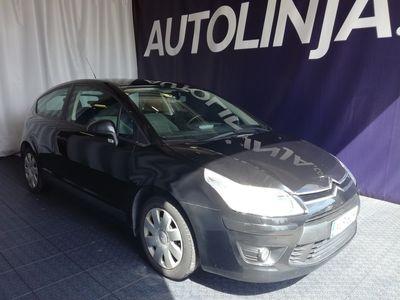 käytetty Citroën C4 1.6i, 2-omisteinen Suomi-auto, Todella vähän ajettu, Rahoitus jopa ilman käsirahaa!!