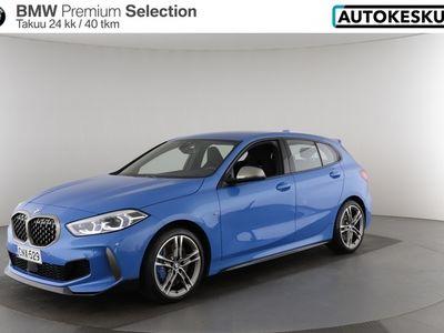 käytetty BMW M135 1-SARJA F40 Hatchback i xDrive A Connected, Comfort, M Sport seats, harman/kardon HiFi