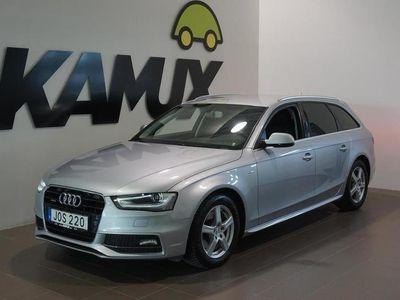 käytetty Audi A4 2.0 TDI Q S-Line (190hv)