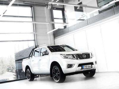 käytetty Nissan Navara 2,3 dCi DC Tekna Aut + Nahat + Navi + Webasto + LED-valot + Surround View + Vetok. + Sis. ALV 24%