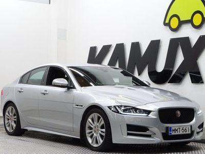 käytetty Jaguar XE 20d R-Sport Plus Aut / Kaistavahti / PA-lisälämmitin / Osanahkasisusta / Bi-Xenonit